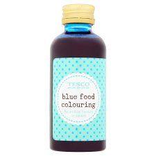 Tesco Blue Food Colouring 60ml