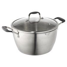 Go Cook Stainless Steel Stock Pot 26Cm