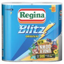 Regina Kitchen Towels Blitz 2 Rolls