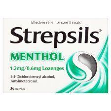 Strepsils Menthol 36 Pack