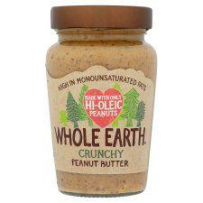 Whole Earth Hi Oleic Crunchy Peanut Butter 340g