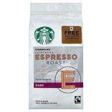 Starbucks Fairtrade Espresso Coffee Beans 200g