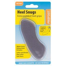 Profoot Padded Heel Snugs 1 Pair