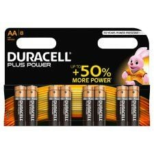 Duracell Plus Aa 8 Pack