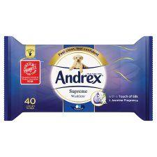 Andrex Washlets Supreme Clean