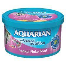 Aquarian Tropical Flake Fish Food 25g