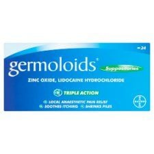 Germoloids Haemorrhoids 24 Suppositories