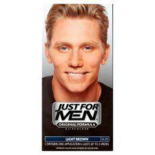Just For Men Hair Colourant Natural Light Brown
