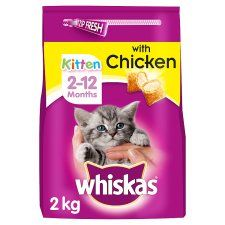 Whiskas 12-2Mths Chicken Dry Kitten Food 2kg