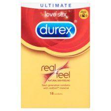 Durex Condoms Real Feel 18'S