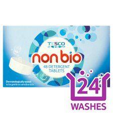 Tesco Non-Bio. Tablets 24 Washes 48Pk