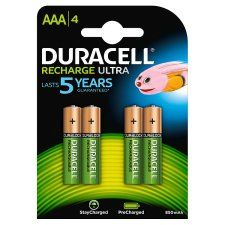 Duracell Recharge Ultra AAA 4 Pack