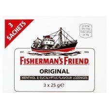 Fishermans Friend Strong Original 3X25g Pack