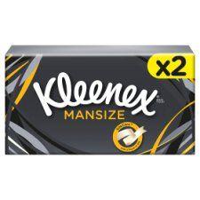 Kleenex For Men Mansize Tissue Twin Pack 90S
