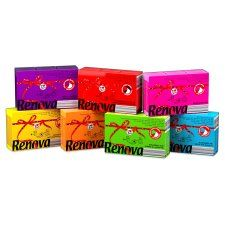 Renova Pocket Tissue 6 Pack Various Colours
