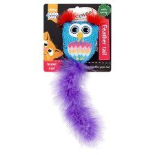 Meowee Feather Tail Owl Cat Toy