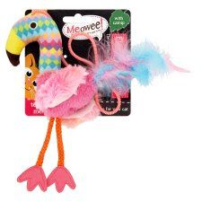 Meowee Dangley Flamingo Cat Toy