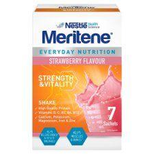 Meritene Strength and Vitality Strawberry Shake 7X30g