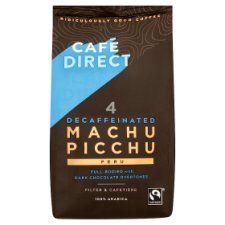 Cafedirect Decaffeinated Machu Picchu Ground Coffee 227g