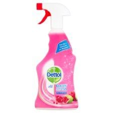 Dettol Power and Fresh Spray Cleaner Pomegranate 500 ml