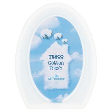 Tesco Solid Gel Air Freshener Cotton Fresh