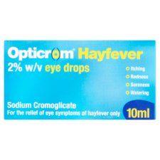 Opticrom Hayfever Eye Drops 10ml