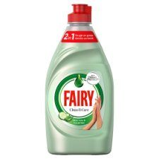 Fairy Clean and Care Aloe Vera and Cucumber Wash Up Liquid 383ml
