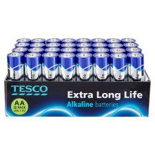Tesco Long Life AA 32 Pack
