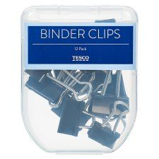 Tesco Binder Clips