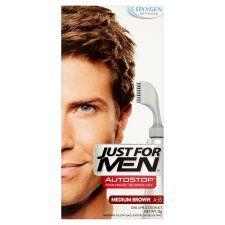 Just For Men Autostop Hair Colour Medium Brown