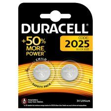 Duracell Speciality 2025 2 Pack
