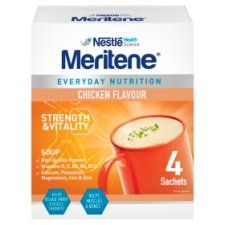 Meritene Strength and Vitality Chicken Soup 4X50g