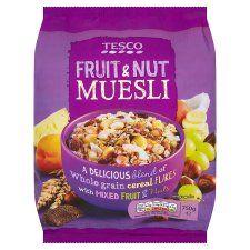Tesco Fruit & Nut Muesli 750g