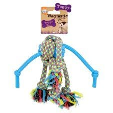 Wagtastic Toy Tuggy Ball Dog Toy