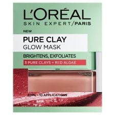 L'oreal Pure Clay Glow Mask Red 50ml