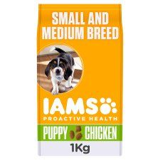 Iams Junior Sml, Medium Dry Puppy Food 1kg