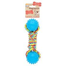 Wagtastic Toy Rope Dumbell Dog Toy