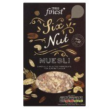 Tesco Finest Six Nut Muesli 500g