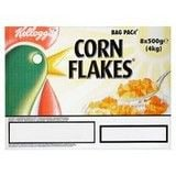 Catering Size Kellogg's Corn Flakes Bag Pack 8 x 500g