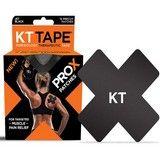 KT Tape Pro-X Synthetic Patch Jet Black x 15 Precut