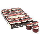 Bulk Buy Lichfields Extra Fruit Raspberry Jam 24 x 28g Portion Pots