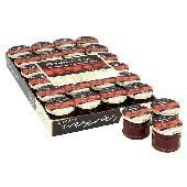 Bulk Buy Lichfields Extra Fruit Strawberry Jam 24 x 28g Portion Pots