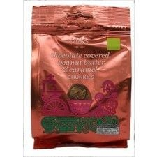 Marks and Spencer Chocolate Covered Peanut Butter and Caramel Chunkies 130g