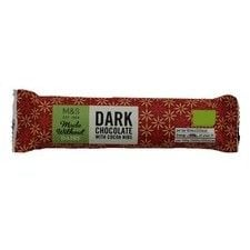 Marks and Spencer Made Without Dairy Dark Chocolate With Cocoa Nibs 35g