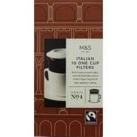 Marks and Spencer Italian One Cup Filters x 10
