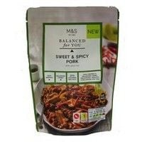 Marks and Spencer Balanced For You Sweet and Spicy Pork Pouch 300g