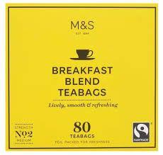 Marks and Spencer Breakfast Blend 80 Teabags