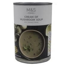Marks and Spencer Cream of Mushroom Soup 400g