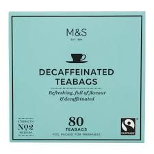 Marks and Spencer Decaffeinated Tea 80 Teabags