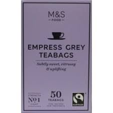 Marks and Spencer Empress Grey 50 Teabags